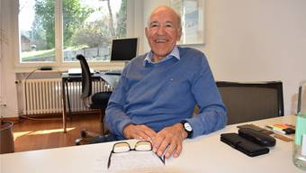 Den Ruhestand geniesst Alt-Regierungsrat Ernst Hasler aktiv – er führt seine Immobilienfirma weiter.