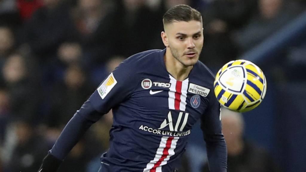 Mauro Icardi bleibt bis 2024 bei PSG