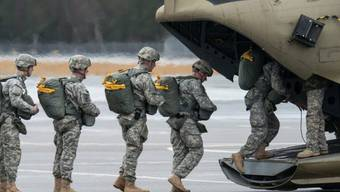 Rückzug: US-Armee soll verkleinert werden (Archiv)