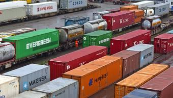 Starke Exportindustrie im Februar (Symboldbild).