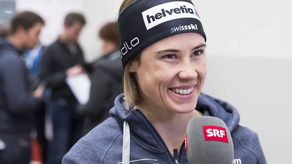Laurien van der Graaff äussert vor dem Rennen ihre Zuversicht