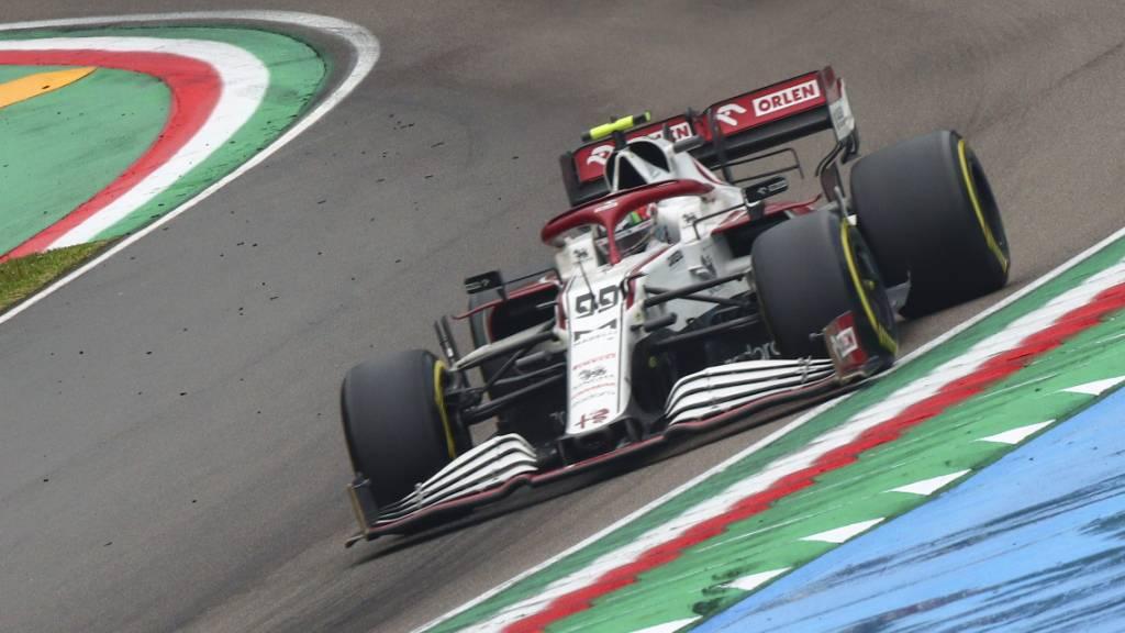 Callum Ilott wird am Freitag in einem Alfa Romeo erstmals ein Training an einem Grand-Prix-Wochenende bestreiten
