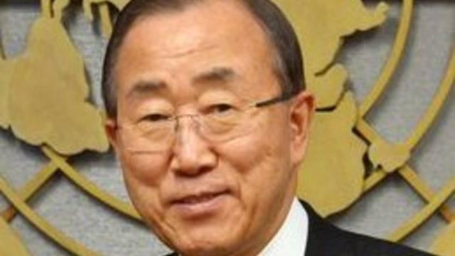 Ban Ki Moon warnt vor Ignorieren des Klimawandels (Archiv)