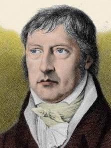 Georg Wilhelm Friedrich Hegel (1770-1931). Im Tübinger Stift auf der gleichen Stube  wie ...