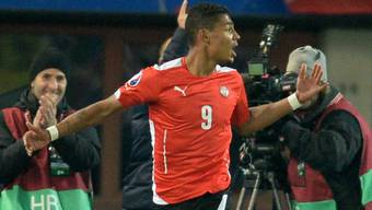 Rubin Okotie schoss Österreich zum 1:0-Sieg über Russland
