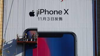 Geringere Nachfrage bei den Kunden als angenommen: Apples iPhone X schwächelt. (Archivbild)