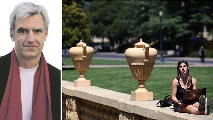 Die University of California hat den Kampf gegen die Überwachungsmethoden aufgenommen. An vorderster Front: Greg Niemeyer (l.).