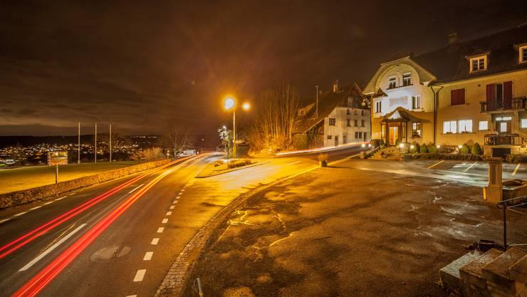 Ein Traktandum an der Gemeindeversammlung befasst sich mit der Dimmung der Strassenbeleuchtung.