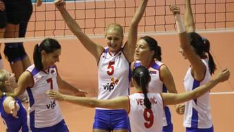 Serbiens Volleyballerinnen sind Europameister