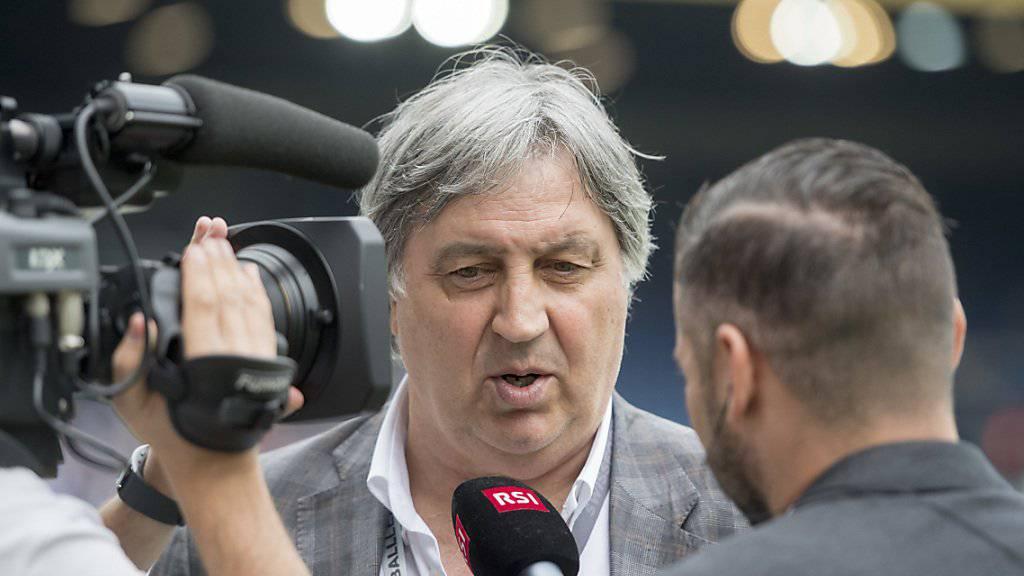 Luganos Präsident Angelo Renzetti ist mit dem jüngsten Auftritt seiner Mannschaft ganz und gar nicht zufrieden