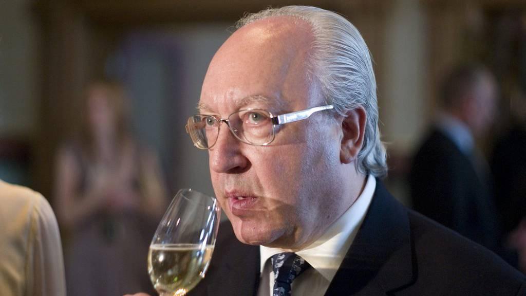 Urs E. Schwarzenbach ist  Mehrheitsaktionär des Zürcher Luxushotels Dolder Grand.