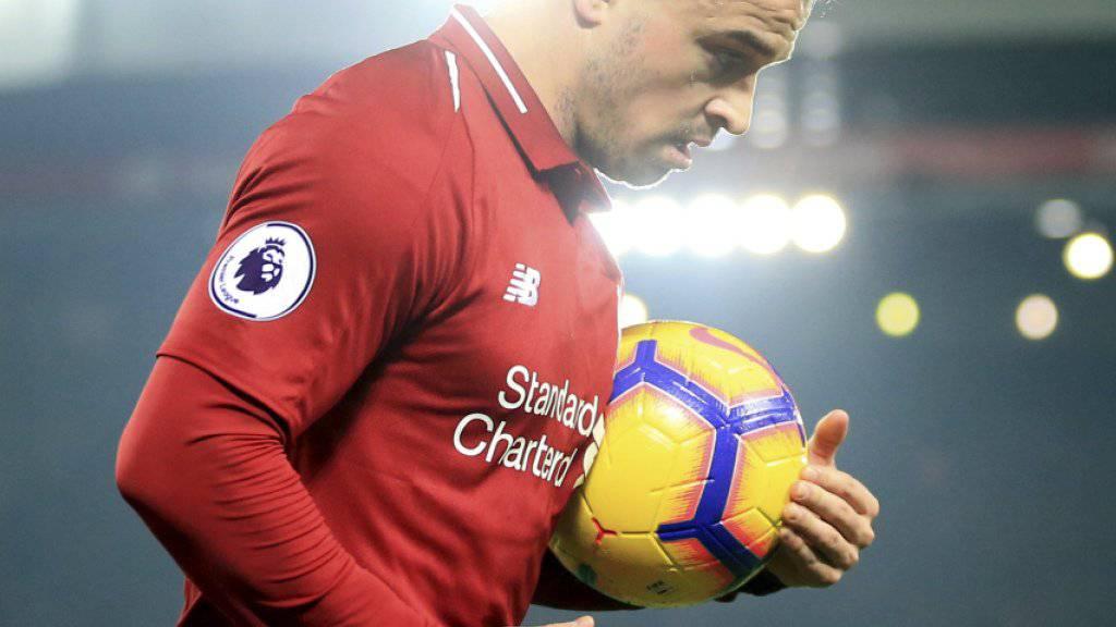 Xherdan Shaqiri spielt mit Liverpool selten, sein Klub ist aber auf Erfolgskurs