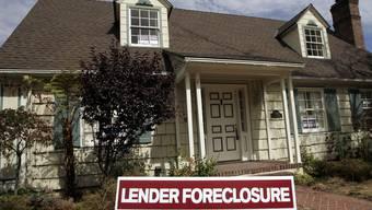 Mehr als eine Million Immobilien in den USA zwangsversteigert (Archiv)