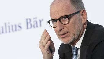 Julius-Bär-Chef Hodler hat im letzten Jahr 6,16 Millionen Franken verdient. (Archiv)