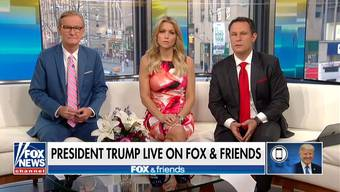 Qualvolle 31 Minuten: Donald Trumps wirre Monologe bei «Fox & Friends».