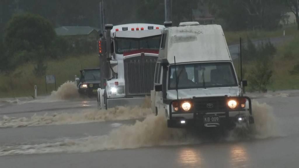 Australien: Katastrophale Überschwemmungen an  der Ostküste