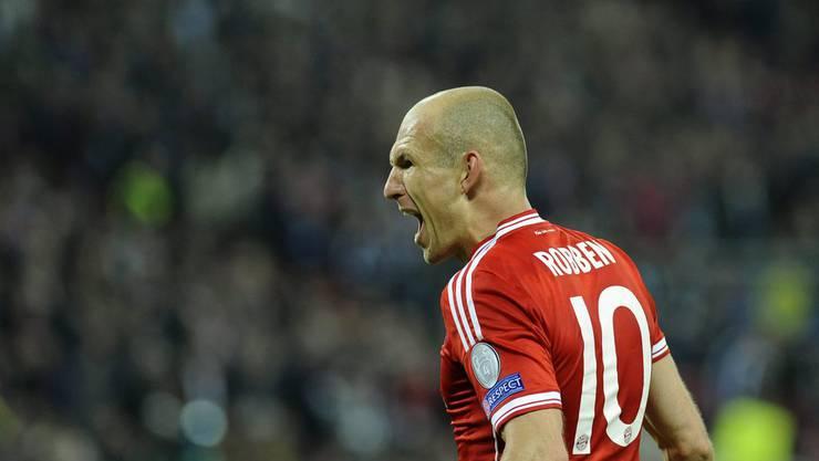 Das entscheidende Tor machte er: Arjen Robben