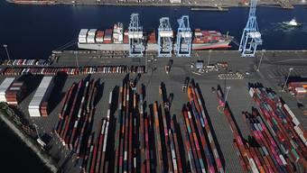 Container-Hafen in Tacoma im US-Bundesstaat Washington. (Archivbild)