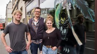 Das «Terrasamba»-Team: Benni Kunz, Thomas «Obi» Mohler, Louise Zitzer. Sie wagen einen Neubeginn.