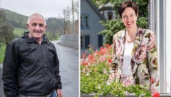 Werden heute in ihre neuen Ämter gewählt: Hannes Schweizer und Monica Gschwind.