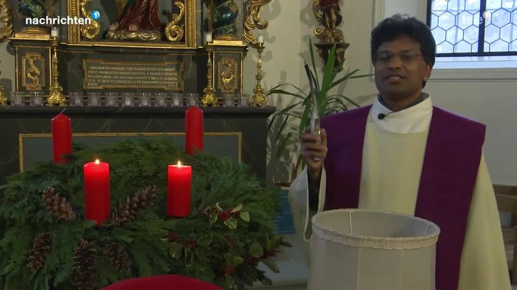 Weihnachtsserie: Beim Pfarrer