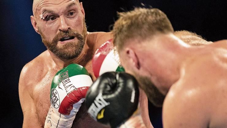 Hat den Mut, über Depressionen zu sprechen: Boxer Tyson Fury.