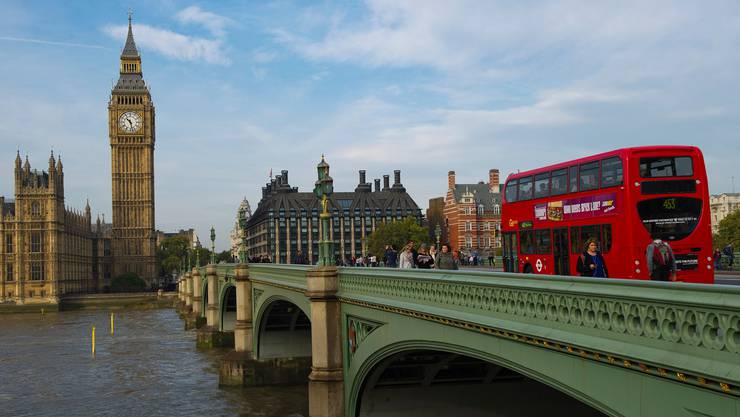 London ist eine beliebte Destination für Städte-Trips.