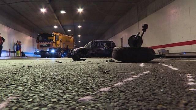 Verkehrs-Chaos nach Frontalkollision