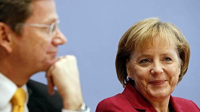 Die Vorsitzenden von FDP und CDU Archiv)