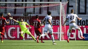 Impressionen vom Match Thun - Basel