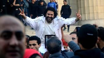 Blogger Alaa Abdel Fattah (Archiv)