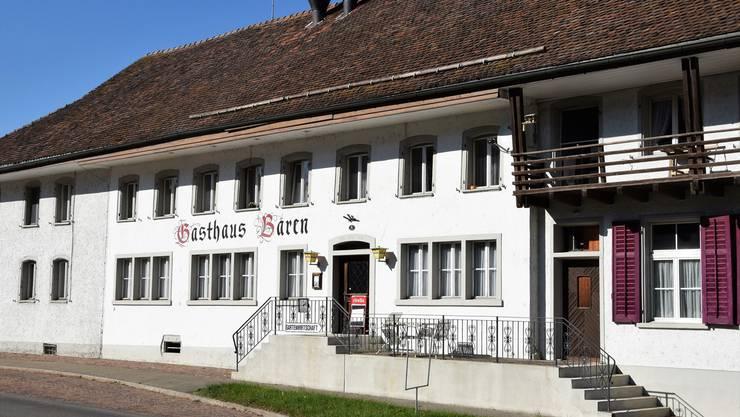 Der «Bären» befindet sich direkt an der Bözbergstrasse auf der Passhöhe.