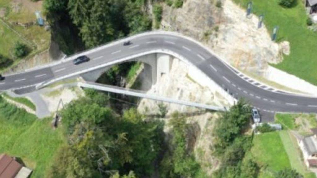 Die Intschialpbachbrücke ist saniert.