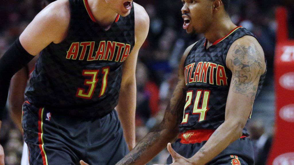 Die Atlanta Hawks, die ohne Thabo Sefolosha spielten, konnten sich in Chicago nicht durchsetzen
