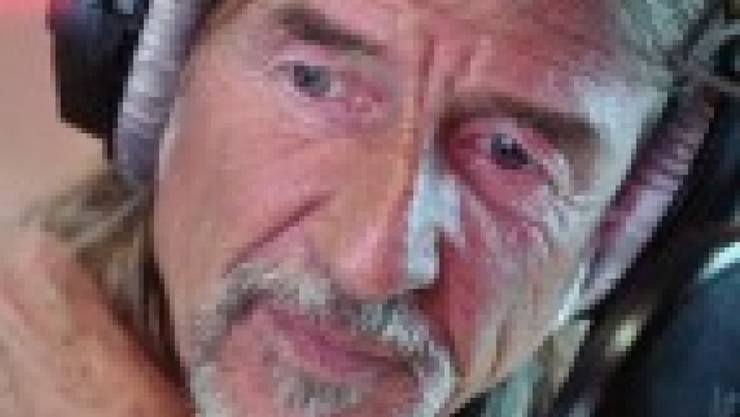 """Für Radiomoderator Ralph Wicki sind die """"Berge und Täler"""" in seinem Gesicht Zeichen eines gelebten Lebens."""