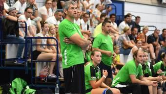 HVO Damen Trainer André Bichsel.