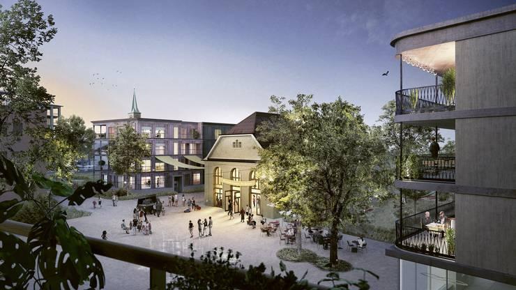 Für das überarbeitete Zentrumsplanungsprojekt in Birsfelden gibt es neue Visualisierung.