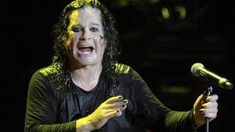 Black Sabbath will wieder mit Ozzy Osbourne auf Tournee gehen (Archiv)