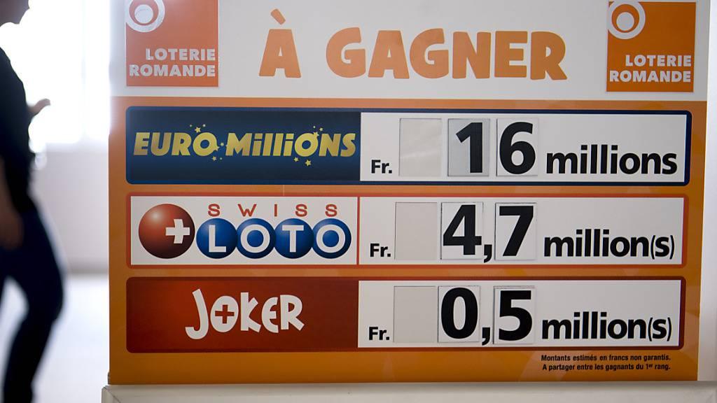 Gewinn von über einer Million Franken bei Euromillions