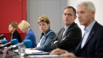 Die Zürcher Regierung – im Bild Präsidentin Silvia Steiner – ist mit den Ende August beschlossenen Verschärfungen der Coronamassnahmen zufrieden.