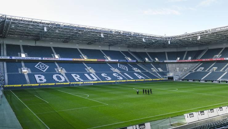 Ist derzeit verwaist: Der Borussia-Park von Borussia Mönchengladbach.