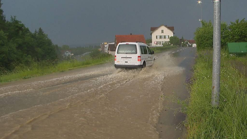 Erneut starke Regenfälle in der Nordost- und Innerschweiz