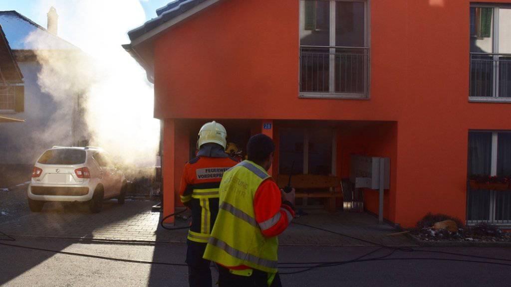 Seniorenheim in Seewis in Brand