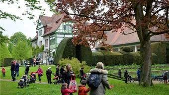 Eines von weiteren kostspieligen Legislaturzielen: die Sanierung der Villa Langmatt.