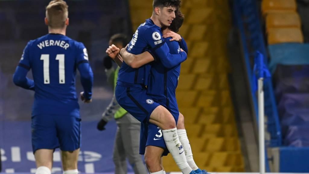 Chelsea baut Serie der Ungeschlagenheit aus