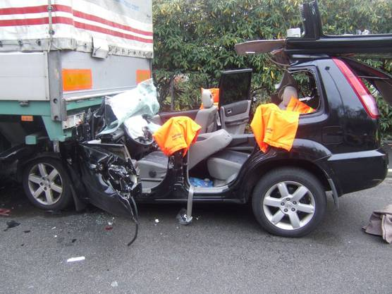 Unfall Muttenz