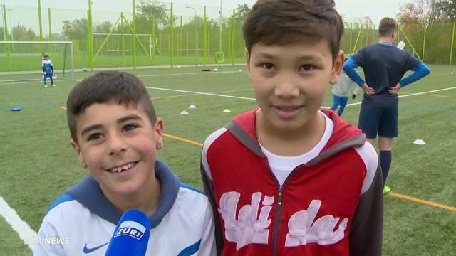 FCZ-Kids integrieren spielend Flüchtlingskinder