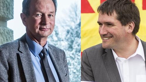 Radikal wie die SVP? FDP-Chef Müller kritisiert SP-Chef Levrat.