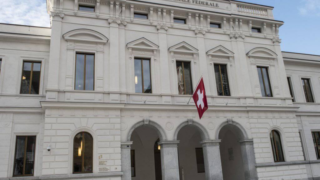 Wie zuvor der Ständerat hat sich auch der Nationalrat gegen die Einführung eines Strafregisters für Unternehmen ausgesprochen. Im Bild: Das Bundestrafgericht in Bellinzona (Symbol).