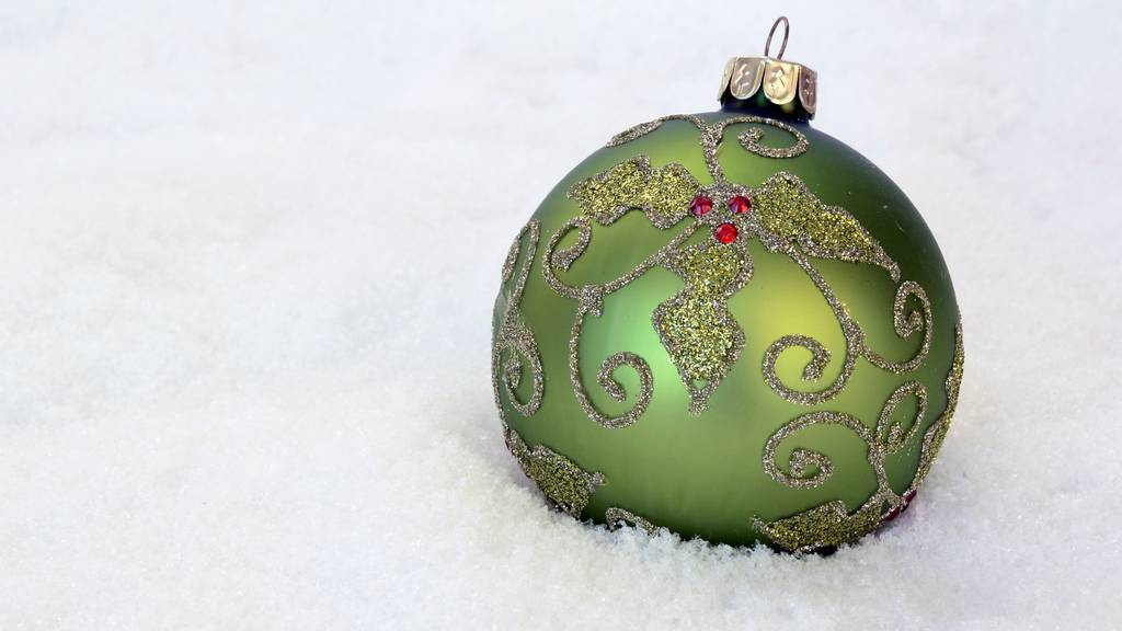 Weihnachtskugel Weihnachten Deko